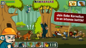 Action-packed - Side-scrolling defense game for iPhone, game for iPad, game apps for Android