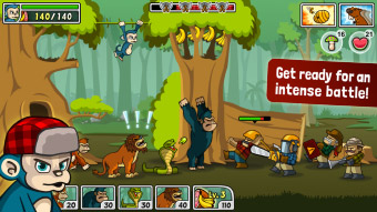 Free Side-scrolling defence game for iPhone, game for iPad, game apps for Android